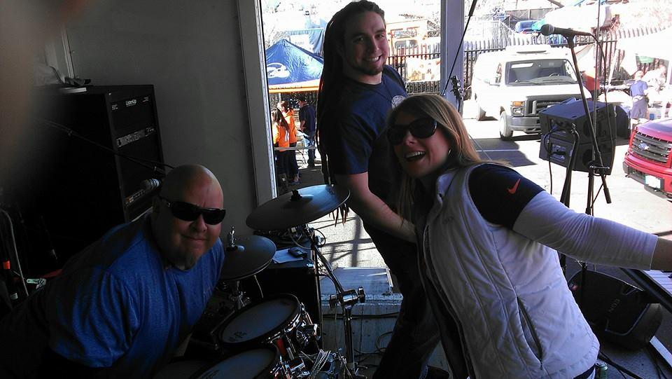 Mike Rice, Tim Hankinson and Amanda Ray